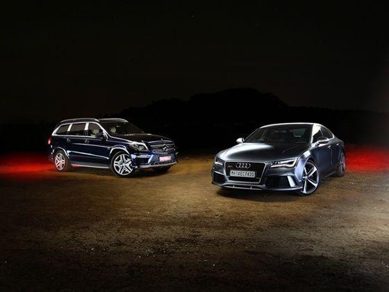 Adui RS7 vs Mercedes GL63 AMG