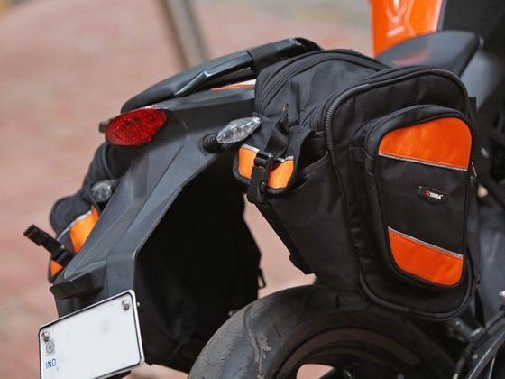 ViaTerra Velox KTM saddlebags