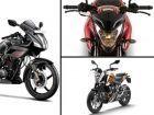 New 2014 Hero Karizma vs Bajaj Pulsar 200NS vs KTM 200 Duke: Spec Comparison