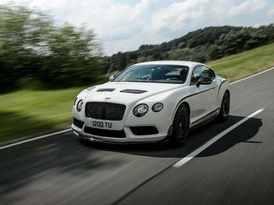 Bentley Continental GT3 R in action