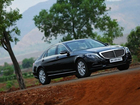 2014 Mercedes-Benz S-Class Review front three quarter