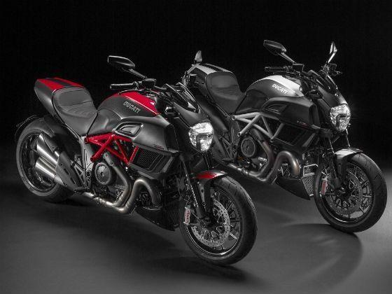 New Ducati Diavel studio shot