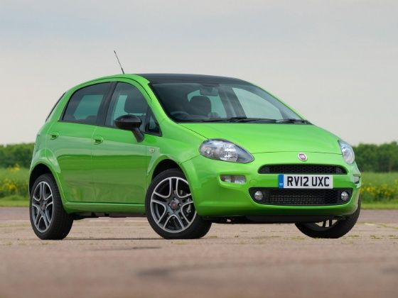 New Fiat Punto Front
