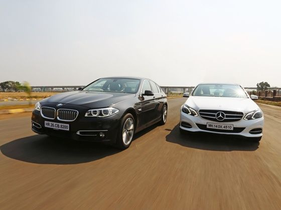 Bmw 520d vs mercedes e 250 cdi comparison review zigwheels for New e series mercedes benz
