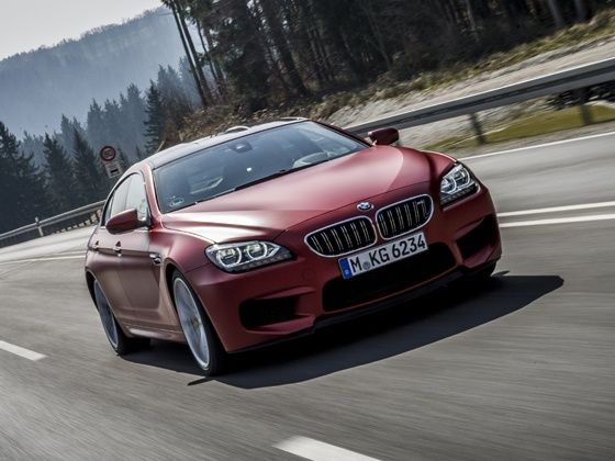 2014 BMW M6 Gran Coupe in action