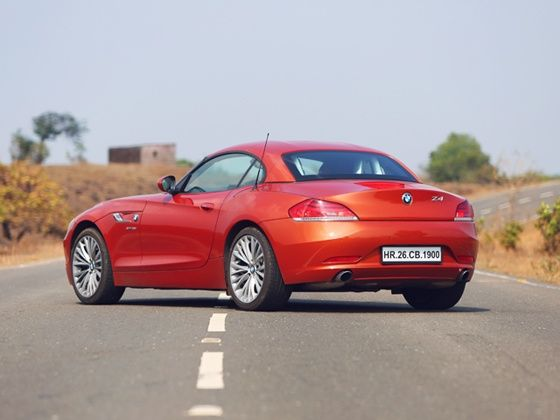BMW Z4 Rear Still