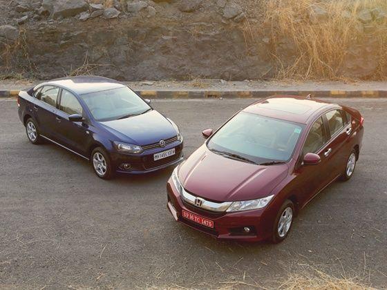 Honda City Volkswagen Vento Comparison