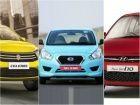 Nissan Datsun Go vs Maruti Suzuki Celerio vs Hyundai i10: Spec Comparison
