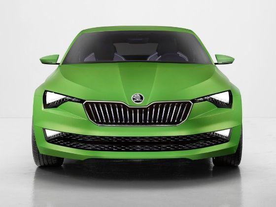 Skoda Vision C Concept Front