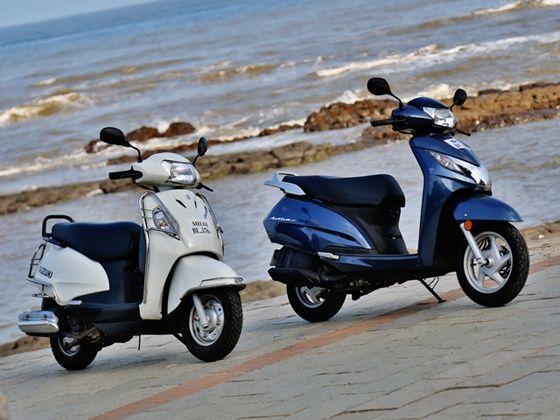 Suzuki Access  Vs Honda Activa Review