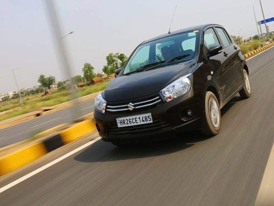 Maruti Celerio AMT in action