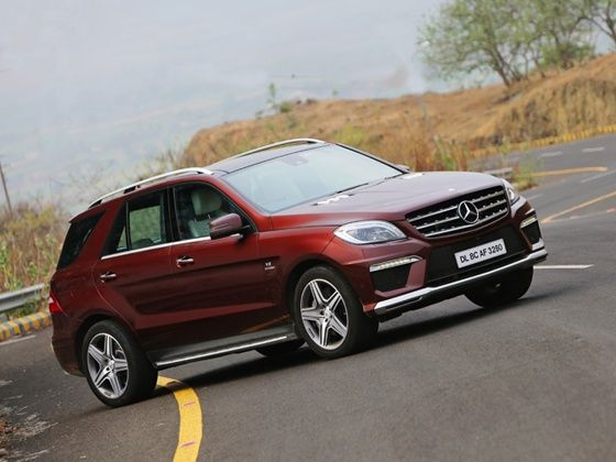 2014 Mercedes-Benz ML63 AMG India review