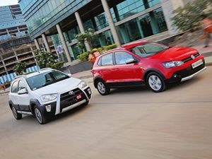 Toyota Etios Cross Vs Volkswagen Cross Polo Comparison