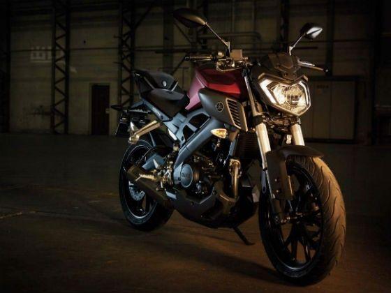 Yamaha M-125 front shot