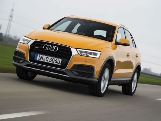 Facelifted 2015 Audi Q3 review