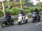 Mahindra Gusto vs Honda Activa vs TVS Jupiter Scooter Comparison Review