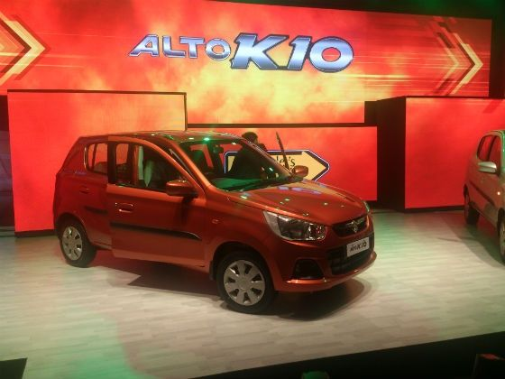 New Maruti Alto K10 launched in India