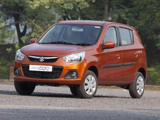 New Maruti Alto K10 front static