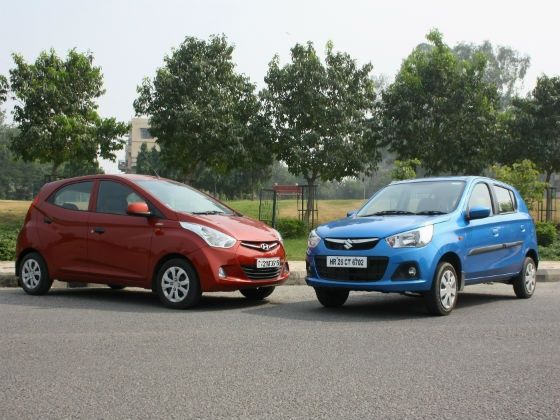 New Maruti Alto K10 vs Hyundai Eon 1.0 comparison review