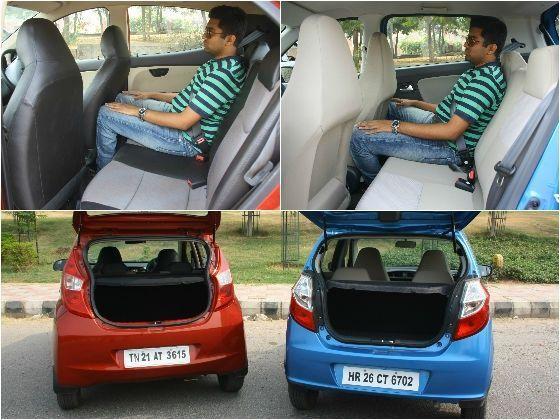 New Maruti Alto K10 Vs Hyundai Eon 1 0 Comparison Review Zigwheels