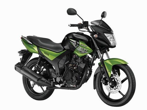 Yamaha SZ-RR Version 2.0 in green