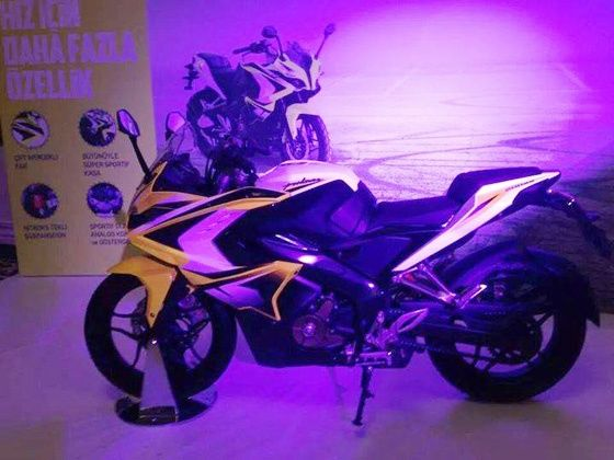 New Bajaj Pulsar 200 SS spied during a private function