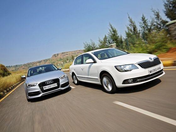 Audi A3 vs Skoda Superb petrol comparison 2