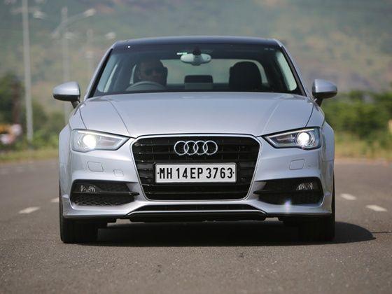 Audi A3 40TFSI petrol review front 2
