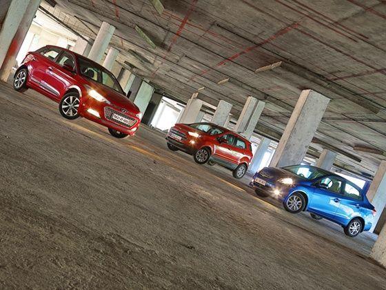Hyundai Elite i20, Ford EcoSport and Honda Amaze
