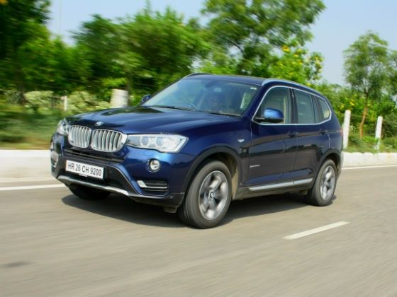 2014 BMW X3 xDrive 20d front action