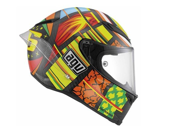 AGV Pista GP helmet side shot