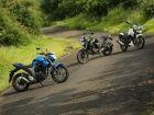 Suzuki Gixxer vs Yamaha FZ-S FI vs TVS Apache RTR 180