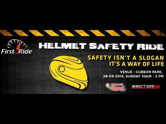 Helmet Safety Ride Sep 28, 2014