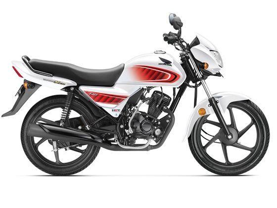 Honda Dream Neo in white shade