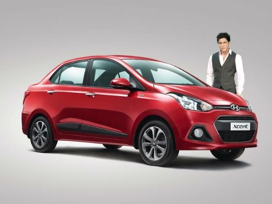 SRK roped in as brand ambassador for Hyundai Xcent