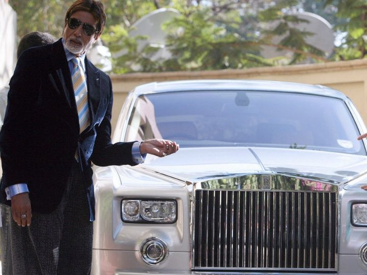 Celebrity Cars India: Dharmendra's Land Rover