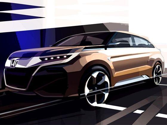 Honda Compact SUV Teased