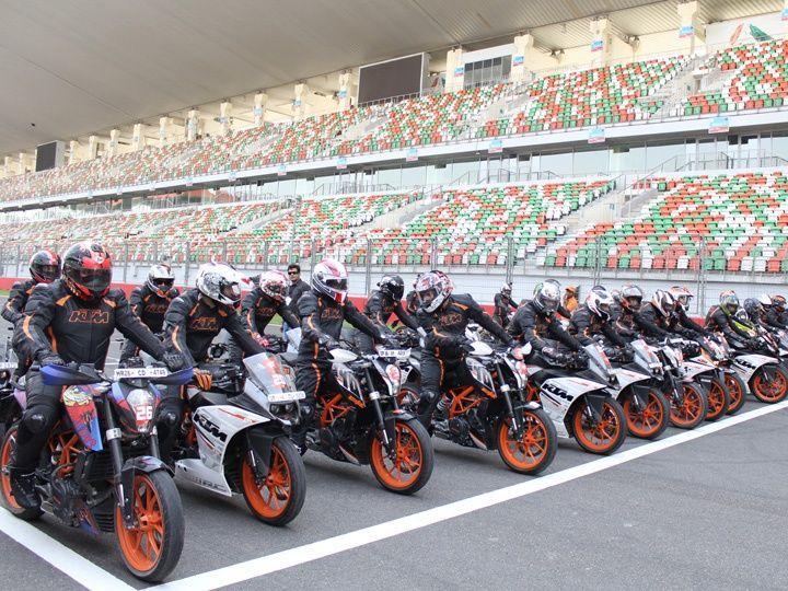 KTM track day