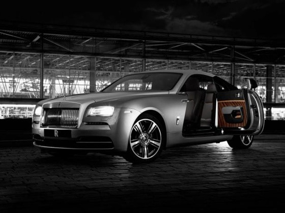 Rolls-Royce Wraith special edition unveiled