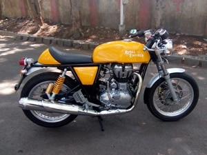 royal enfield 750cc motorcycle spotted testing zigwheels. Black Bedroom Furniture Sets. Home Design Ideas