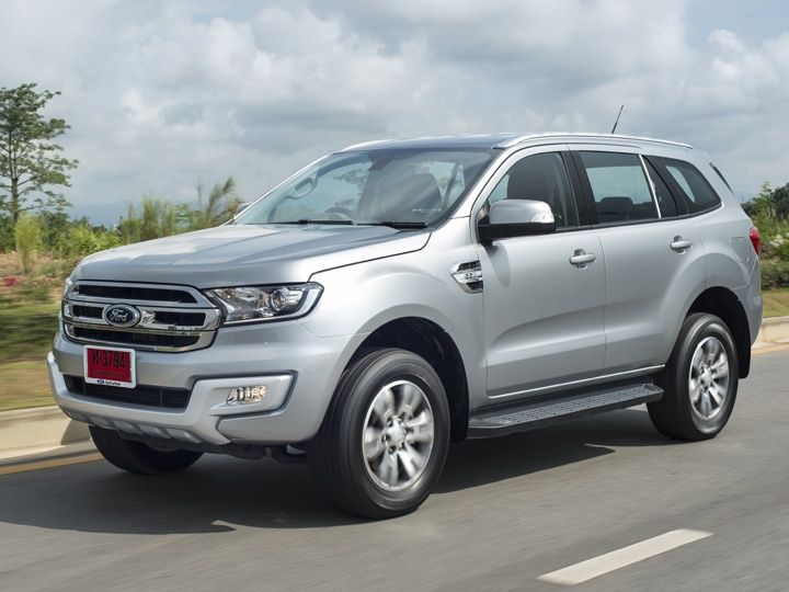 2015 Ford Endeavour Goes Live On India Website