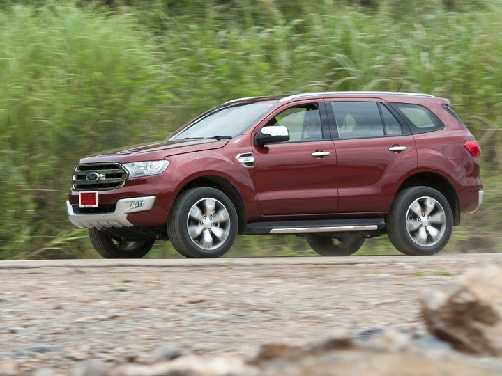2015 Ford Endeavour In Action