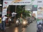 DSK Hyosung owners ride to celebrate Indian Independence Day