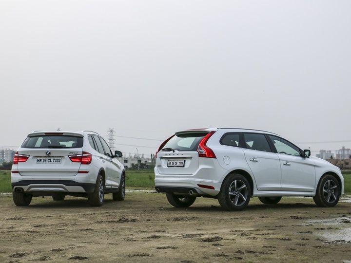 Volvo XC60 vs BMW X3 comparison review - ZigWheels