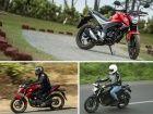 Honda CB Hornet 160R vs Suzuki Gixxer vs Yamaha FZ-S FI: Spec Comparison
