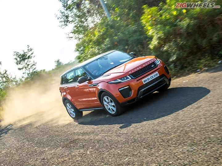 2016 Range Rover Evoque handling