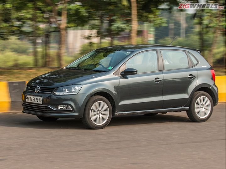 2015 Volkswagen Polo GT TSI in action