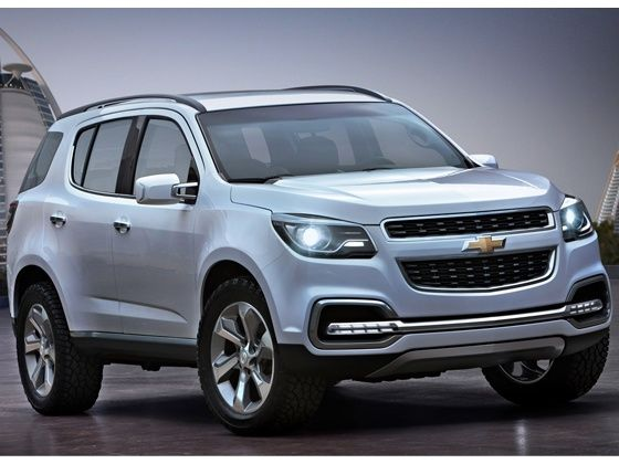 2015 Chevrolet Trailblazer Front