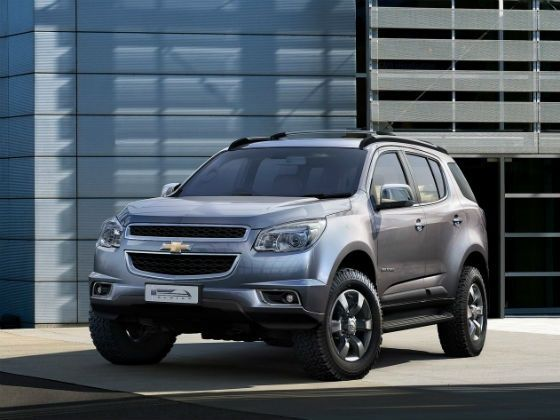 Chevrolet Trailblazer front static