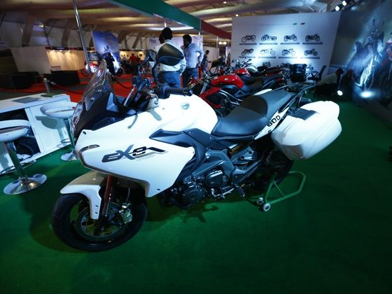 Dsk Benelli Bikes At Mumbai International Motor Show 2015 Zigwheels
